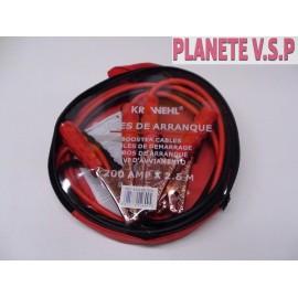 Cables de demarrage (200 amperes)