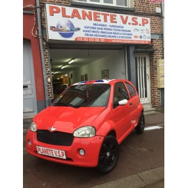 Chatenet Barooder phase 2 sport rouge toit anglais