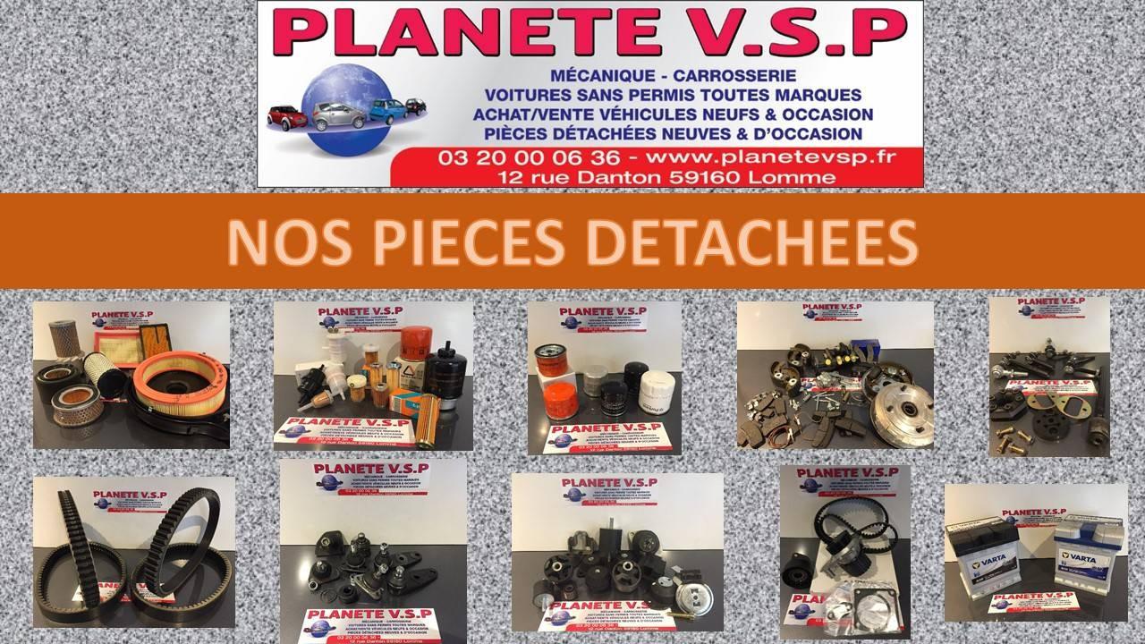 Vente de pièces détachées neuves et d'occasions pour voitures sans permis toutes marques (Aixam,Bellier,Casalini,Chatenet,Erad,Grecav,Jdm,Ligier,Microcar)