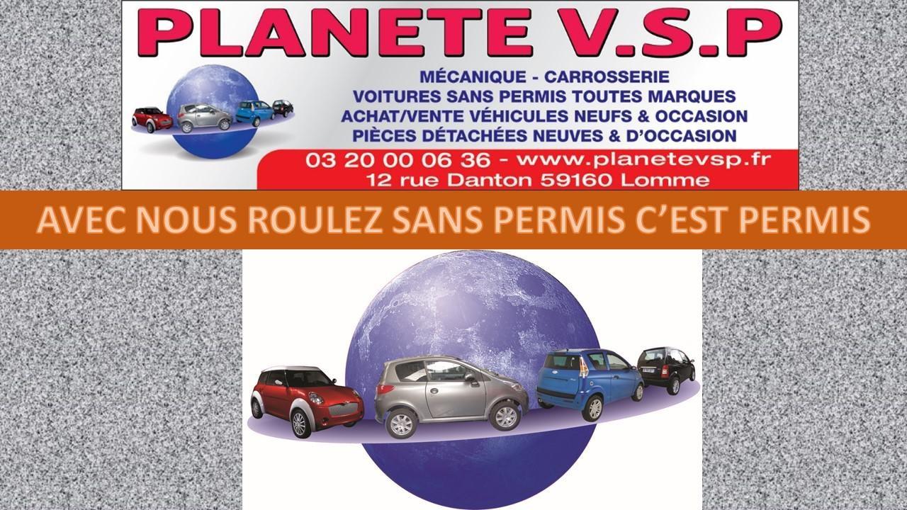 Garage de voitures sans permis toutes marques (Aixam,Bellier,Casalini,Erad,Grecav,Jdm,Ligier, Microcar).